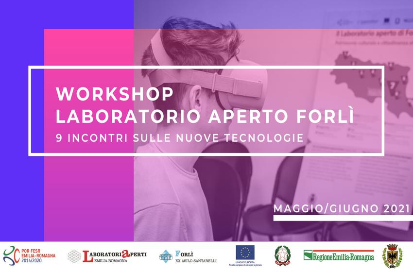 Laboratorio Aperto Forlì: nuovo ciclo di workshop